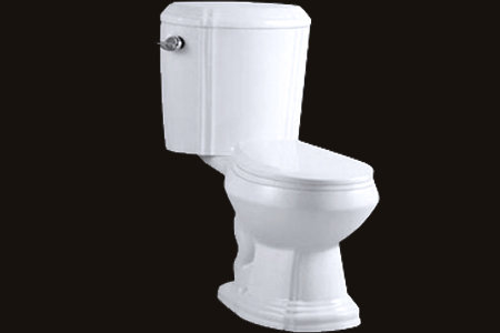Ceramic Toilet Seat & Tank