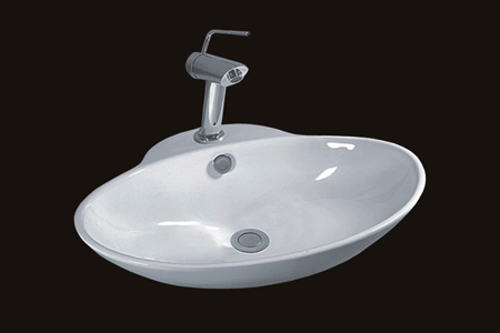Over Counter Vitreous China Sink