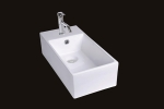 White Vitreous China Sink